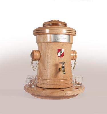Hydrant Feuerwehrgeschenk Drechslerei Wascher