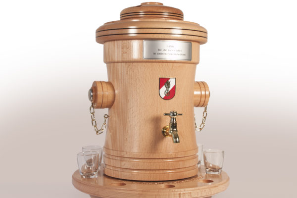Hydrant Feuerwehrgeschenk Original